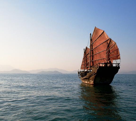 Uscita in mare su una nave dei pirate